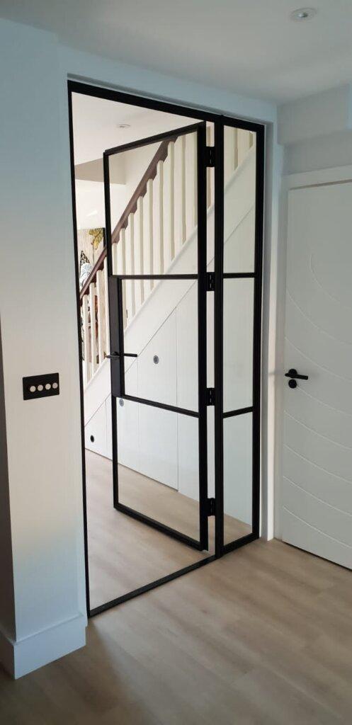 Fire Original Steel door and fixed panel Design Plus 01