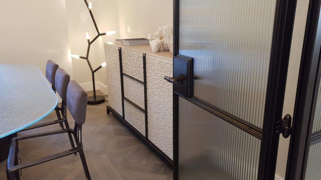 Internal Bronze and Steel Doors DesignPlus 03
